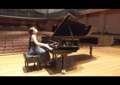 Performance of Sonata (Aram Khachaturian)